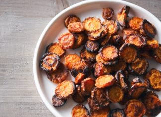 Spicy Carrot Chips