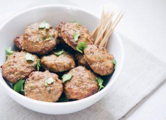 Baked Mini Beef Burgers