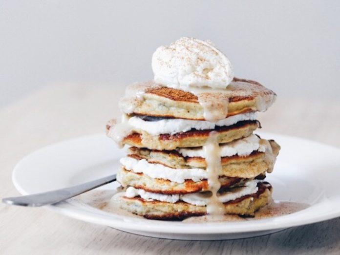 Banana and Cinnamon Pancakes