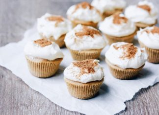 Chai Cupcakes with Cream Cheese Icing