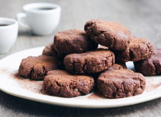 Chocolate Fudge Protein Cookies