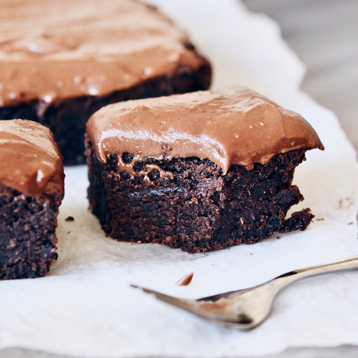 That chocolate peanut butter icing...