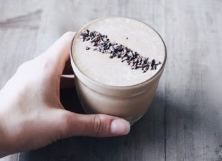 Healthier Chocolate Thickshake