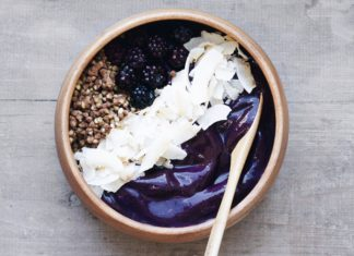 Low Sugar Açai Bowl