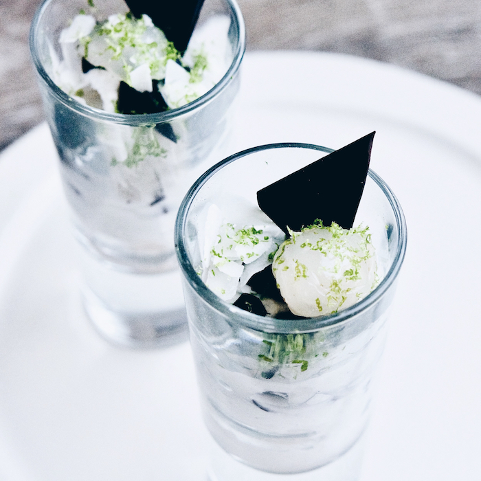 Lychee and Coconut Parfait