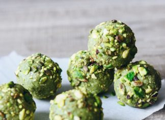 Matcha and Pistachio Bliss Balls