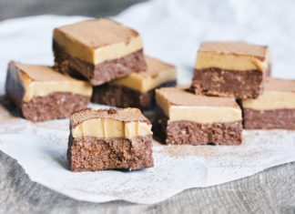 Raw Cacao Peanut Butter Slice