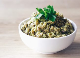 Roasted Broccoli and Garlic Tapenade