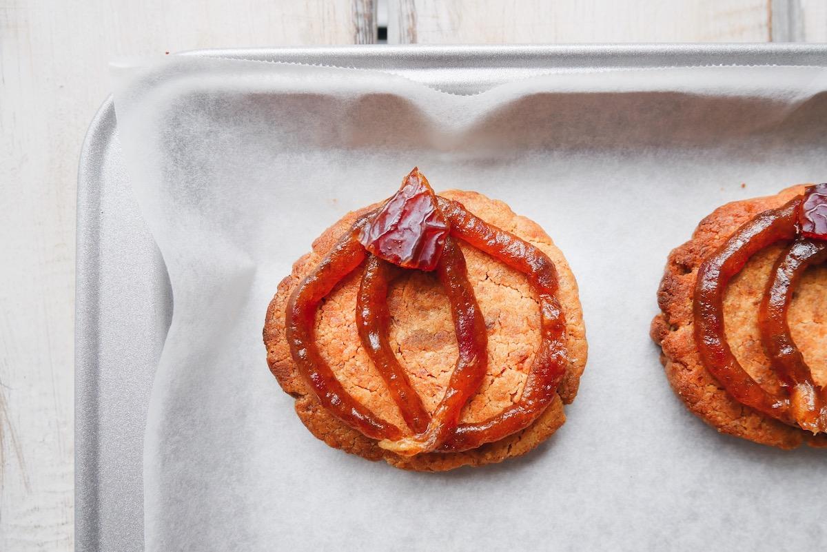 Grain Free Medjool Date Halloween Cookies
