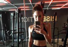 Lilian Dikmans VersaClimber workout