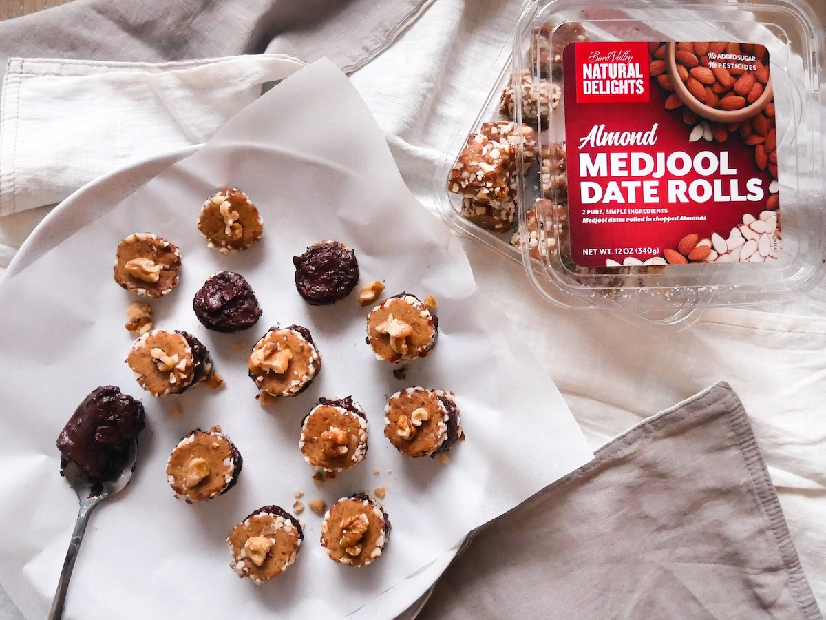 Made with Natural Delights® Almond Medjool Date Rolls
