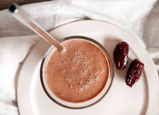Chocolate Medjool Date Smoothie