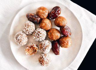 Salted Caramel Medjool Date Energy Balls