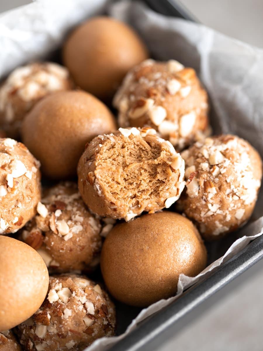 Coffee Whey Protein Balls