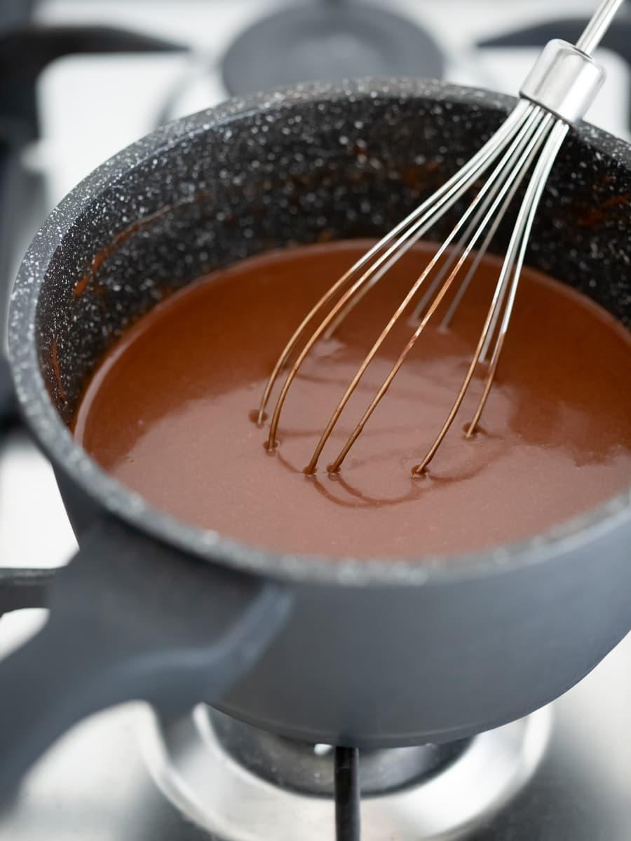 Making Easy Vegan Chocolate Mousse