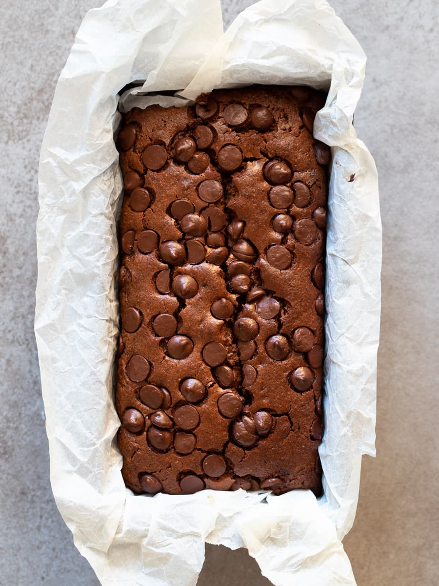 Grain Free Double Chocolate Zucchini Bread